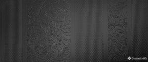 Boutique Negro 25*60 — плитка настенная