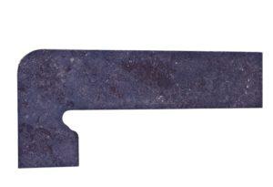 Zan. Metalica Basalt 39.5*17.5 — плинтус (правый, левый)