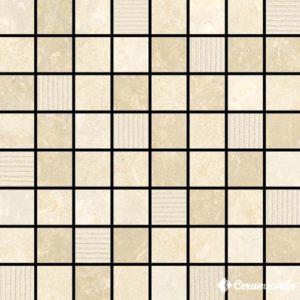 Mosaico Plaza Decor Shine 17.4*17.4 (1.9*1.9) — мозаика