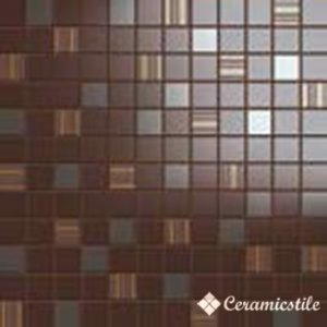 Mosaico Luxury Marrone (3*3) 31.5*31.5 — мозаика