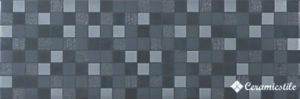Mosaico Gloss Antracita 20*60 — декор