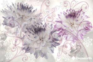 Conjunto Infinity Crisantemos 40*60 — панно