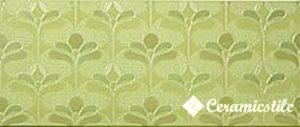 Decorado Baltimor Verde 25*59.2 — декор