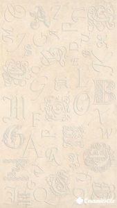 Decor Monograms Beige Brilho 32.7*58.6 — декор