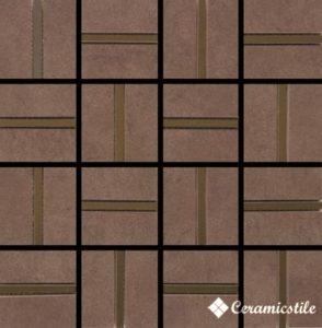 Mosaic City Chocolate Brilho 32.7*32.7*1.04 — мозаика