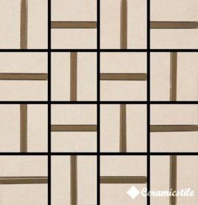 Mosaic City Beige Brilho 32.7*32.7*1.04 — мозаика