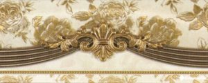 Cenefa Luxury Marfil 8*20 — бордюр