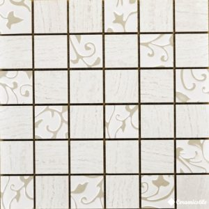 Mosaico Mix White 30*30 — мозаика