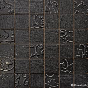 Mosaico Mix Black 30*30 — мозаика
