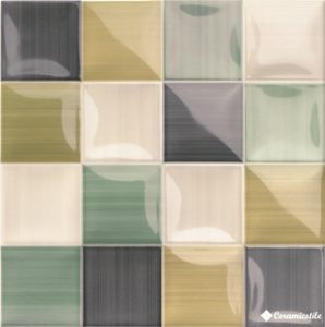 Volumen Green 20*20 — плитка настенная