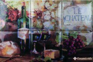 Wine Picture 6pz 45*30 — декор