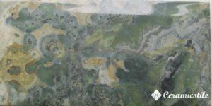 Doric Green 10*20 — плитка настенная