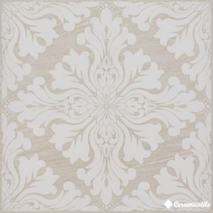 Dec.Valmalenco Arabesco Crema Lap.Ret. 59.5*59.5 — декор