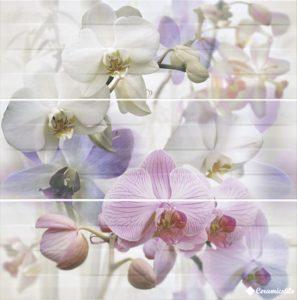 Decor Orquidea — 3 75*75 (3 шт. комплект) — панно