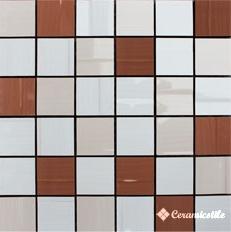 Mosaico Marfil/Crema/Moca Mix-3 30*30 — мозаика
