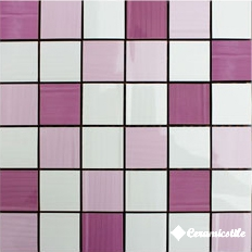 Mosaico Marfil/Lila/Malva Mix-3 30*30 — мозаика
