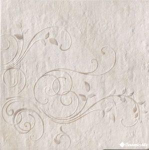 Inserto Ice Ivory Snow 48*48 — декор