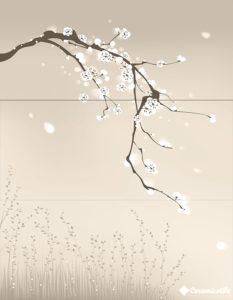 Alba Fuji-3 Beige Decor 90*70 — панно