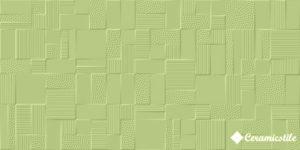 Azkena Verde 25*50 — плитка настенная