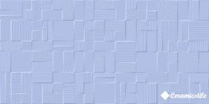Azkena Azul 25*50 — плитка настенная