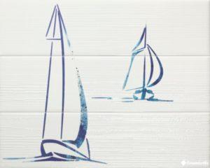 Decor Wind Blue (к-т 3 шт.) — 60*75 — панно