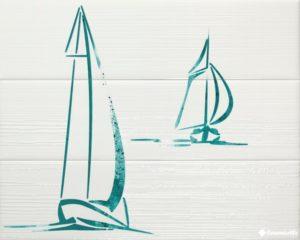 Decor Wind Turquoise (к-т 3 шт.) — 60*75 — панно