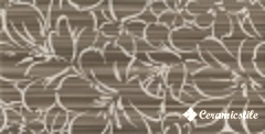 Decor Europa Flor 365 Moka 33.3*65 — плитка настенная