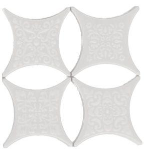 Estrella Set Core Blanco 6.7*6.7 — вставка