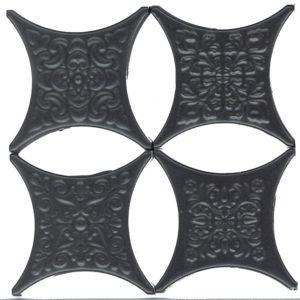 Estrella Set Core Negro 6.7*6.7 — вставка