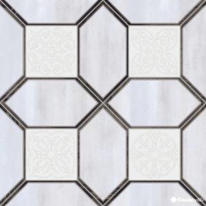 Kioto Silver 45*45 — плитка напольная