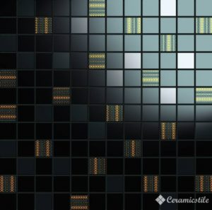 Mosaico Luxury Instinct Nero 31.5*31.5 — мозаика
