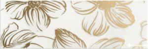 Decor Anya Gold White 20*60 — декор