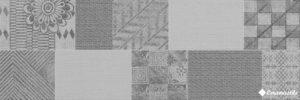 Decor Passione Patchwork Grey 20*60 — плитка настенная