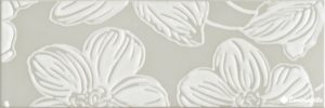 Decor Anya Flower Grey 20*60 — декор