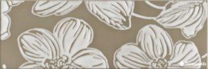 Decor Anya Flower Brown 20*60 — декор