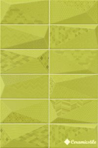 Fancy Y-Green 10*20 — плитка настенная