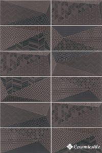 Fancy Graphite 10*20 — плитка настенная