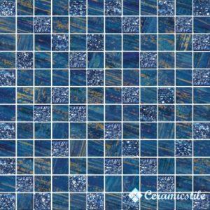 Mosaico Lux Quadretti Blu 30*30 — мозаика