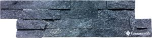 Brick Soft 40 Negro 10*40 — бордюр