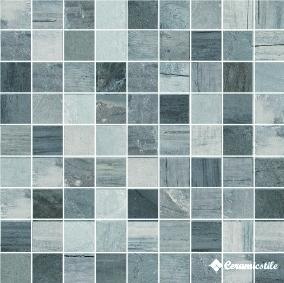 Mosaico Quadrato Osso Lappato 30*30 — мозаика