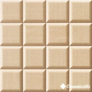 Pillow Biege (3 вида рисунка) 15*15 — плитка настенная