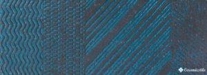 Raku Symbol Turquoise 26*60.5 — плитка настенная