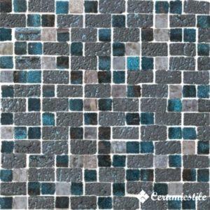 Raku Mosaico Spaccatella Turquoise 30.5*30.5 — мозаика