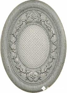 Medallon Yute Plata-Perla 10*14 — декор