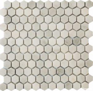 QS-Hex001-25P/10 30.5*30.5 — мозаика полированная