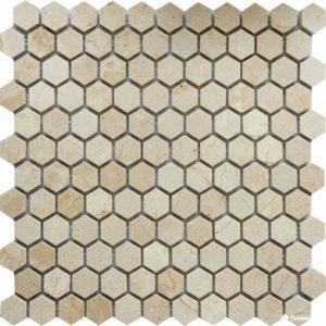 QS-Hex008-25P/10 30.5*30.5 — мозаика полированная