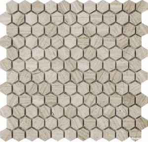 QS-Hex011-25H/10 30.5*30.5 — мозаика матовая