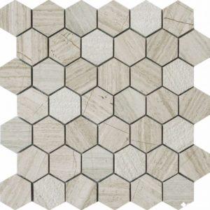 QS-Hex012-3f-48H/10 30.5*30.5 — мозаика матовая