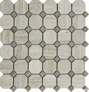 QS-Oct013-3f-48H/10 30.5*30.5 — мозаика матовая