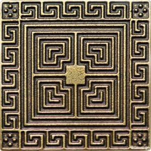 Athenas Classic 7.5*7.5 — вставка напольная